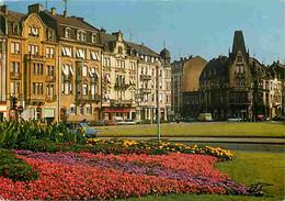 57 - Thionville - Place Du Luxembourg - Fleurs - Automobiles - Flamme Postale De Thionville - CPM - Voir Scans Recto-Ver - Thionville