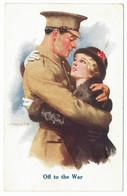 A. BARRETT - Off To The War - Samuels, London - Otros Ilustradores