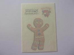 Carte Vache Rit  SHREK Le Troisième Gingerbread Man Tibiscuit Pain D'épice Cow Kuh Vaca Mucca Koe TATOUAGE - Other
