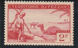 TIMBRE DU FEZZAN  1951  N° 58 ** - Ungebraucht