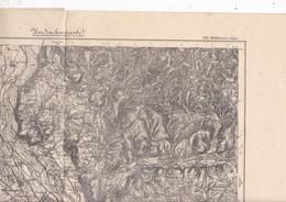 Belle Carte  Karte Des Deutschen Reiches 656 Mulhausen / Mulhouse Alsace 1889 Bâle - Topographical Maps