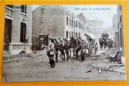 VISE  -  Après Le Bombardement  ( Feldpost ) - Visé