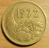 Algérie - 20 Centimes FAO- Année 1972 - Algeria