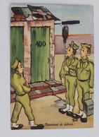 89809 Cartolina Illustrata Umoristica - Militari - Mansione Di Fiducia - VG 1963 - Humour