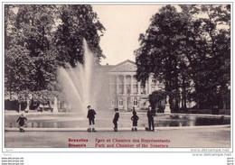 BRUSSEL / Bruxelles - Parc Et Chambre Des Représentants - Brussels Park And Chamber Of The Senators - Bruxelles (Città)