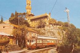 Cartolina - Genova - Ferrovia Genova-Casella E Castello De Albertis - 1965 Ca. - Genova