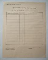 WWII .39/45 : PRISONNIERS De GUERRE . COLIS Du PRISONNIER : DEMANDE FERME DE DENREES . DOCUMENT ORIGINAL D' EPOQUE .. - Guerra 1939-45