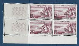 "FR Coins Datés YT 1193 "" Evian "" Neuf** Du 23.3.1959 - 1950-1959"