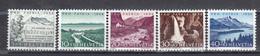 Switzerland 1954 - Pro Patria, Mi-Nr. 597/601, MNH** - Ungebraucht