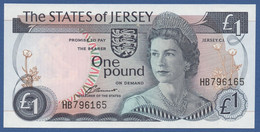 JERSEY - P.11a – 1 POUNDND (1976-88) UNC Serie HB 796165 - Jersey