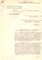 GUERRE INDOCHINE/VIETNAM . COUP DE HAIPHONG . 23/11/1946 . RAPPORT OFFICIER LAMI - Documents Historiques