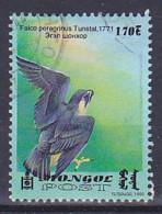 Mongolie - 1999 - Oiseau - Vogel - Bird - Rapace - Faucon - MI 2036 - Oblitéré - Used - Usato -gestempelt - Mongolia