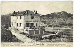 Ticino - MONTAGNOLA - Pension Bellevue - Verlag Schmidhauser Herisau - TI Ticino