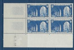 "FR Coins Datés YT 842 "" St-Wandrille "" Neuf** Du 6.2.50 - 1940-1949"