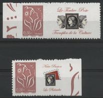 N° 3969A + 3969Aa A Marianne De Lamouche, Grande Et Petite Vignette. Neufs ** (MNH). COTE 33 €. TB - Personalized Stamps
