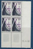 """FR Coins Datés YT 941 """" Haute Couture """" Neuf** 13.4.53 - 1950-1959"""