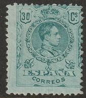 Spain 1909 Sc 303 Ed 275 Yt 249 MH* Some Disturbed Gum/crease - Ongebruikt