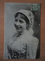 CPA Mariée Tourangelle - 1905 - Tours
