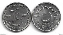 PAKISTAN 2021 HIGH VALUE COIN  70th ANNIVERSARY PAK CHINA  DIPLOMATIC RELATIONS - Pakistan