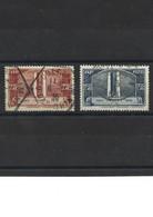 L1920 Inauguration Du Monument De Vimy YT 316-317 Belle Oblitération Geudertheim Bas Rhin 1936 - Usati