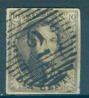 Belgique N°6 -  TB - 1851-1857 Medallions (6/8)