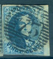 Belgique N°7- TB - 1851-1857 Medallions (6/8)