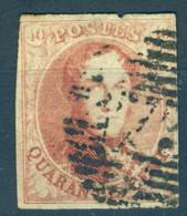Belgique N°8- TB - 1851-1857 Medallions (6/8)