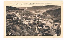 B-8428   TROIS-PONTS : Panorama Vers L'Hotel Du Beau-Site - Trois-Ponts
