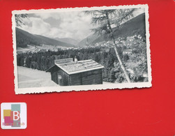 Photo Originale Snapshot Suisse Davos Arosa Golf Club  7 Cm X 11,3 Cm - GR Graubünden