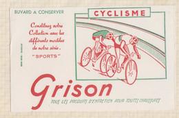 21/407 Buvard GRISON CYCLISME - Wash & Clean