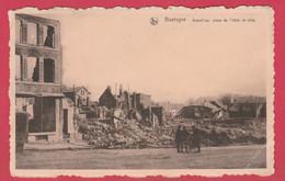 Bastogne 1944 - Grand'rue, Place De L'hôtel De Ville ... Destructions  ( Voir Verso ) - Bastenaken