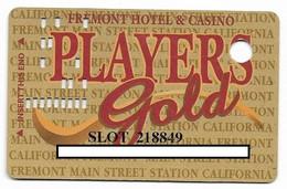 Fremont Casino, Las Vegas, NV, U.S.A, Older Used Slot Or Player's Card,  # Fremont-2 - Casinokarten