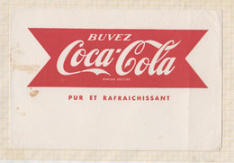21/413 Buvard COCA COLA - Limonades