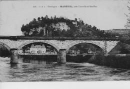 MAREUIL Près De Cazoulès Et Souillac - Pont Et Château - Sonstige Gemeinden