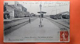 CPA.(49) Cholet. Vue Intérieure De La Gare.    (S.216) - Cholet
