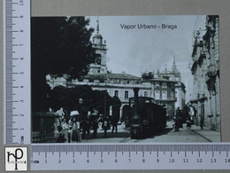 PORTUGAL - VAPOR URBANO -  BRAGA -   2 SCANS  - (Nº44783) - Braga