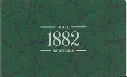 HOTEL 1882 BARCELONA - Chiavi Elettroniche Di Alberghi