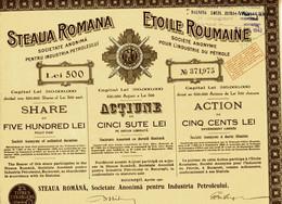 ETOILE ROUMAINE - STEAUA ROMANA - Unclassified