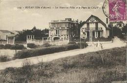 CPA De ROYAN - Les Nouvelles Villas Et Les Phare Du CHAY. - Royan
