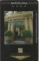 HOTEL BARCELONA CENTER - Chiavi Elettroniche Di Alberghi
