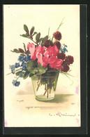 Künstler-AK Catharina Klein: Blumen In Einem Glas Wasser - Klein, Catharina