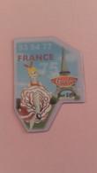 Magnet 75/93/94/77 France Tour Eiffel Le Gaulois - Tourism
