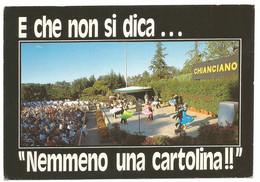 AA1267 Chianciano Terme (Siena) - Parco Fucoli - Trattamento Pomeridiano / Viaggiata 1989 - Altre Città