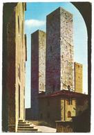 AA1268 Città Di San Gimignano (Siena) - Torri Salvucci / Viaggiata 1971 - Altre Città
