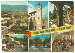 AA1269 Chianciano Terme (Siena) - Panorama Vedute Multipla / Viaggiata 1969 - Altre Città