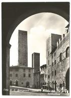 AA1274 Città Di San Gimignano (Siena) - Piazza Del Duomo - Particolare / Viaggiata 1966 - Altre Città