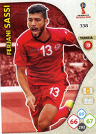 Trading Cards Panini Football Fifa World 2018 Russia Adrenalyn Tunisie 338 Ferjani Sassi - French Edition