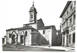AA1276 San Quirico D'Orcia (Siena) - La Collegiata - Chiesa / Non Viaggiata - Altre Città