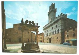 AA1277 Montepulciano (Siena) - Piazza Grande - Pozzo Dei Grifi E Dei Leoni - Auto Cars Voitures / Viaggiata 2007 - Altre Città