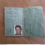 GILLY CHARLEROI Carte Identité 24/08/1979 Monsieur Strobe Né à ACOZ 03/02/1962 - Zonder Classificatie